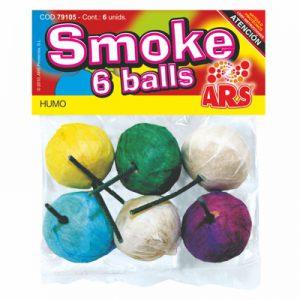 bolas humo